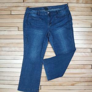 📣2/36$📣 Love & Legend stretch jeans size 18